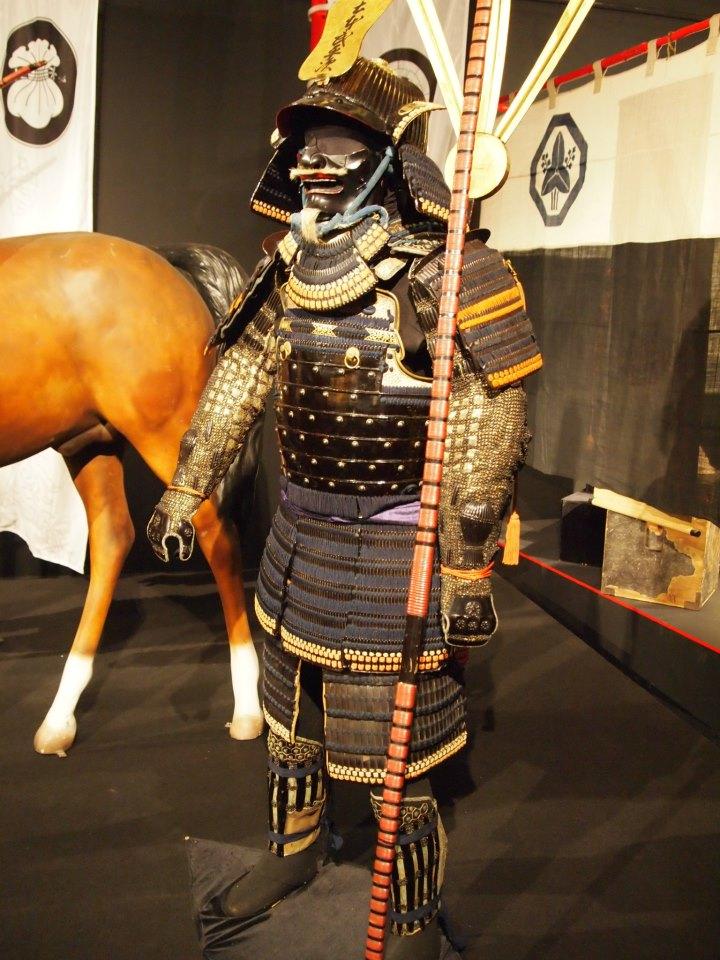 Exposition à Kiev: armures samourai (photos) 40678410