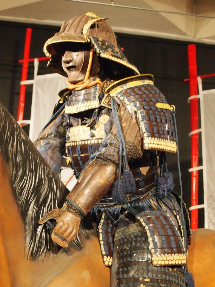 Exposition à Kiev: armures samourai (photos) 54994210