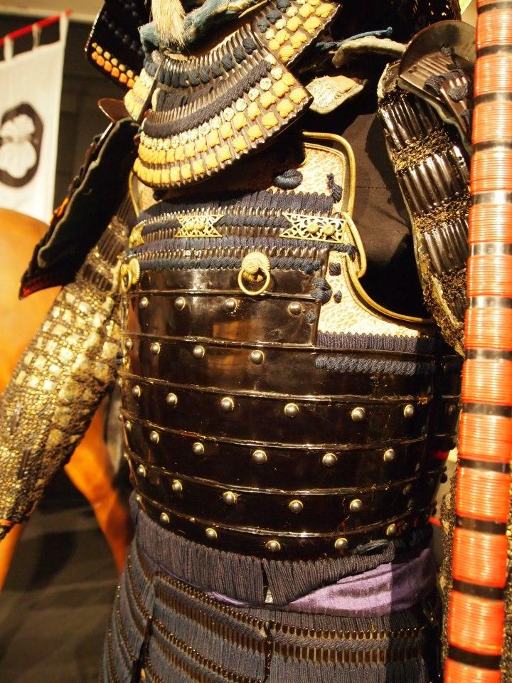 Exposition à Kiev: armures samourai (photos) 55508811