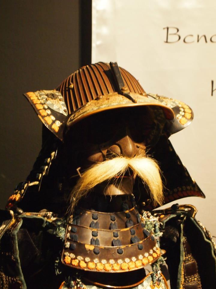 Exposition à Kiev: armures samourai (photos) Bb10