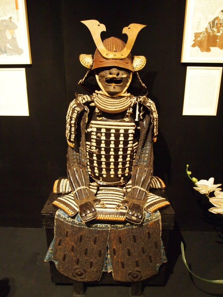Exposition à Kiev: armures samourai (photos) Bbbb10