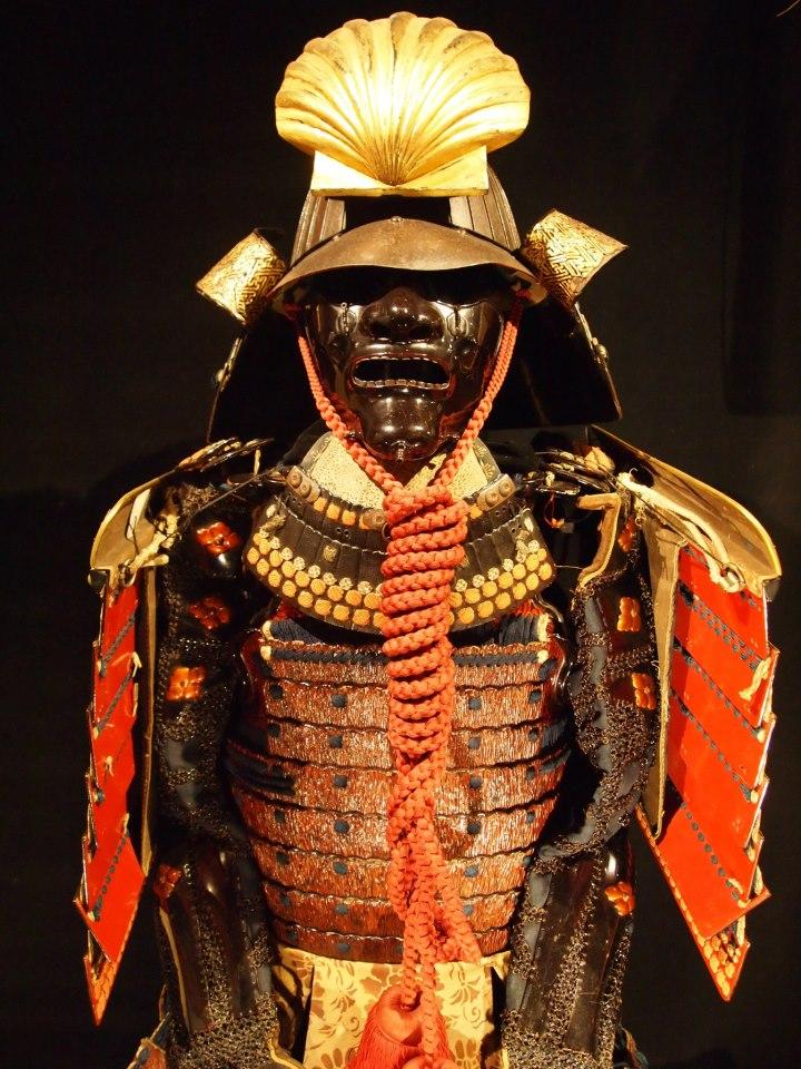 Exposition à Kiev: armures samourai (photos) G11