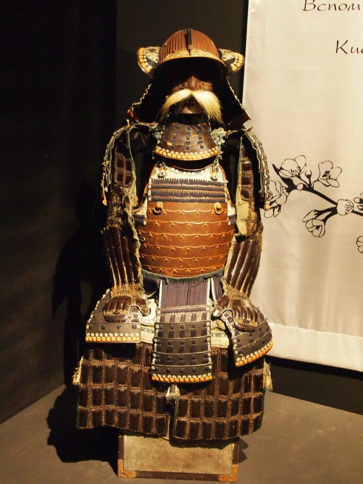 Exposition à Kiev: armures samourai (photos) Ggg10