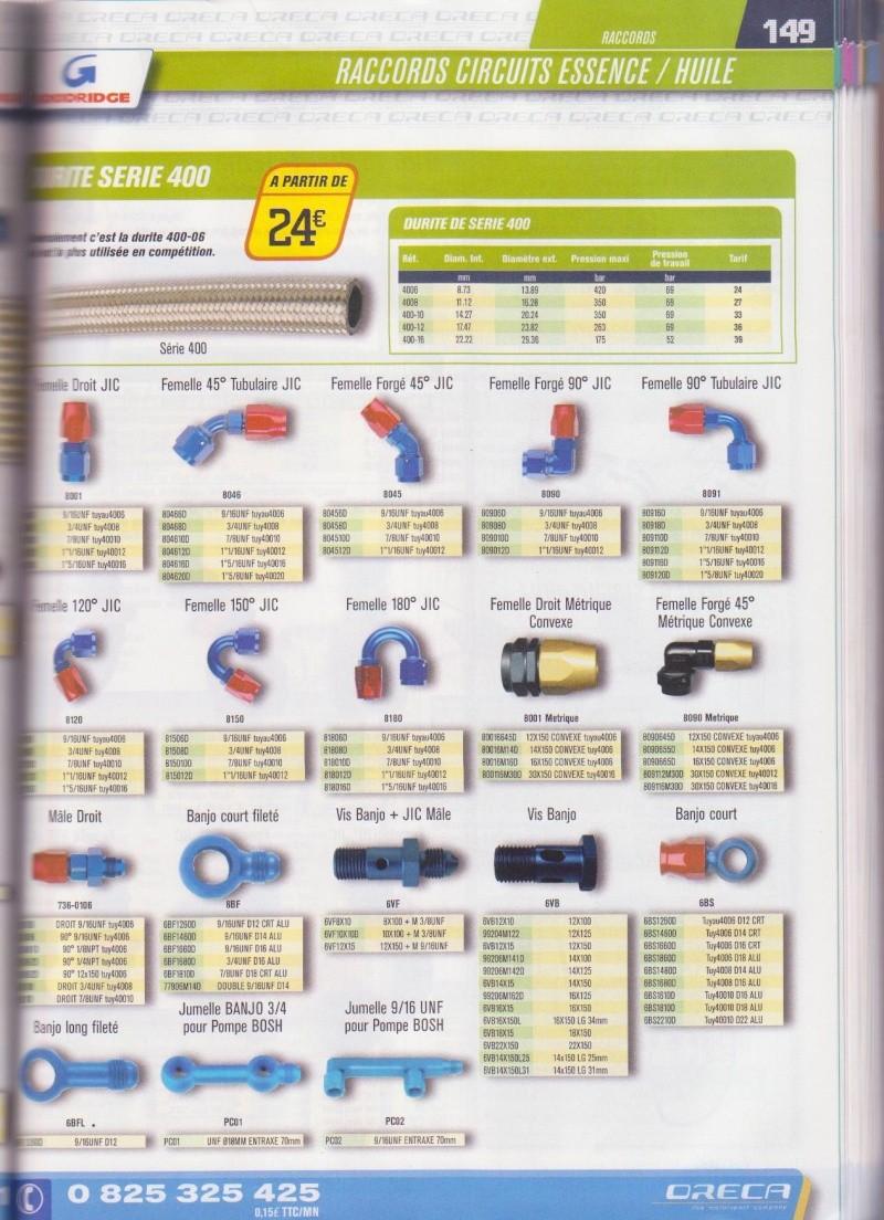 Durite Avia pour radiateur d'huile Oreca_15