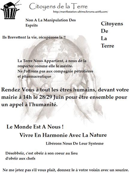 2nde EDITION 27 décembre 2008 CARCASSONNE/ EXODE URBAIN, autogestion .... Affich10