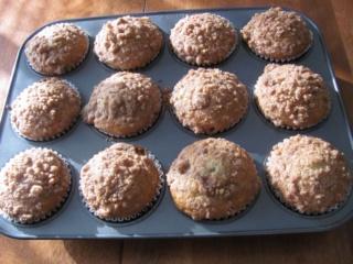 Muffins aux bananes avec crumble et glaçage à la cannelle Muffin10