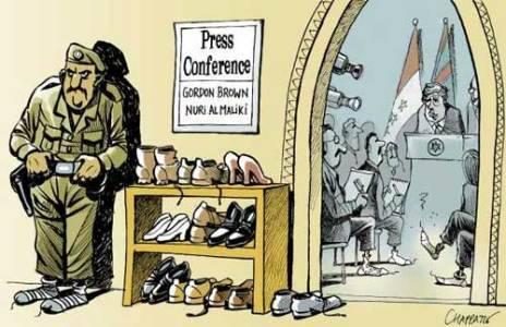 الصحافة الأمريكية والجزمة 00410