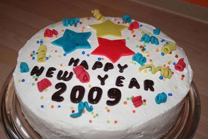 Gateau Bonne année Nouvel10