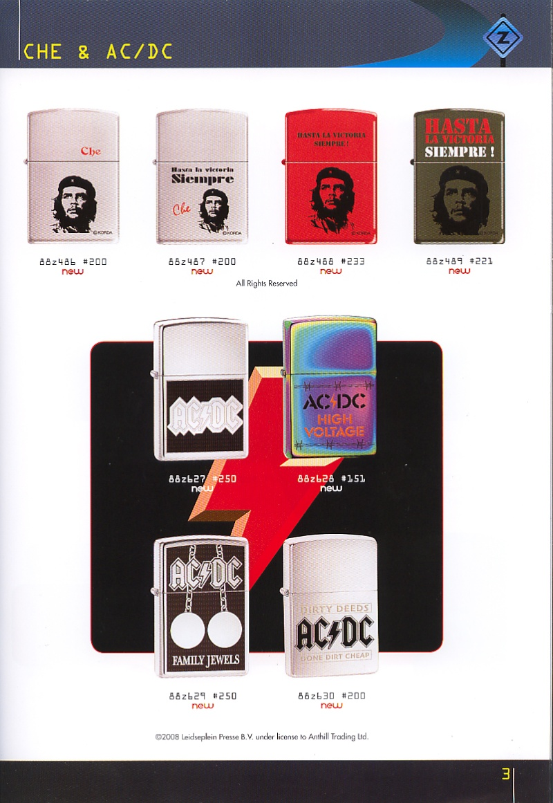 Catalogue ZIPPO collection 2008 - 2009 (France) Page_015