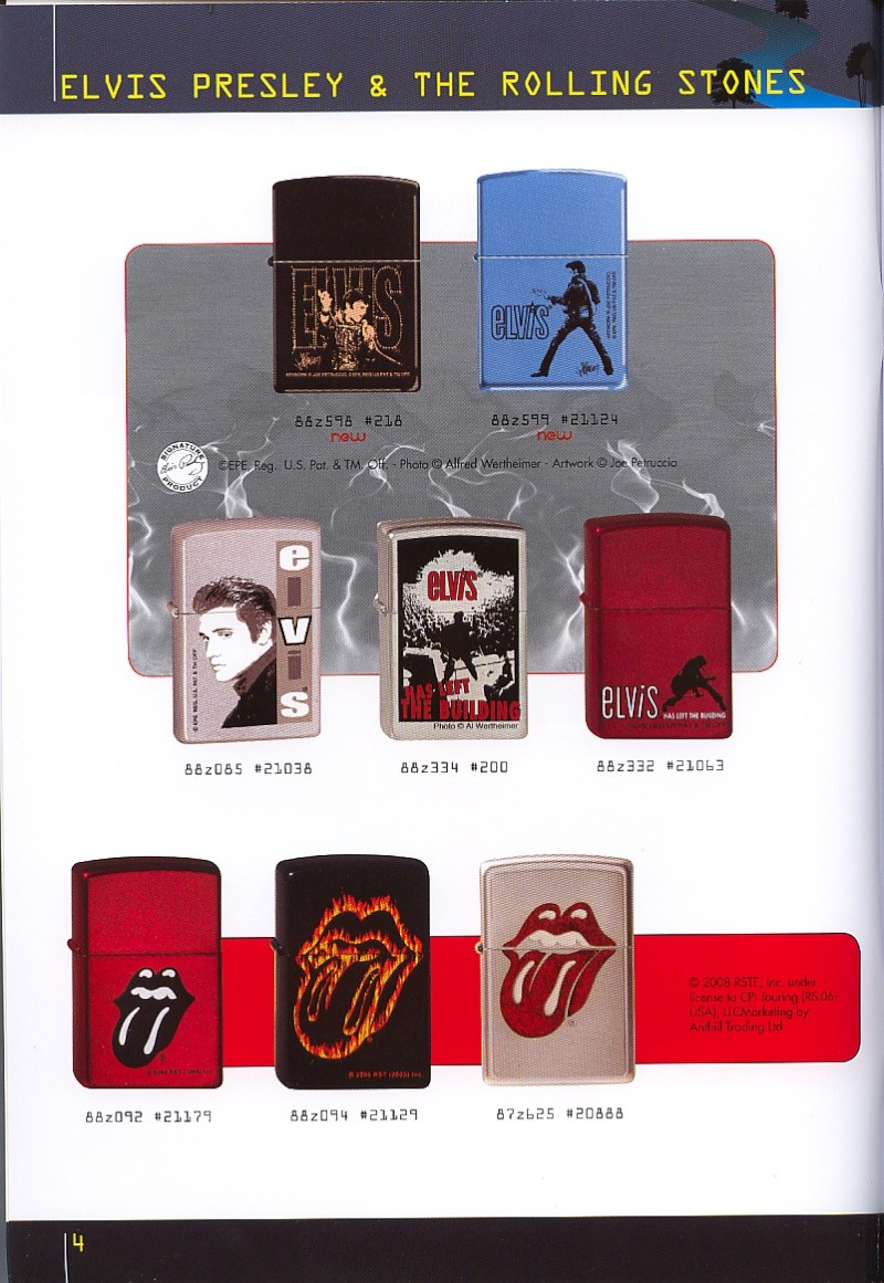 Catalogue ZIPPO collection 2008 - 2009 (France) Page_016