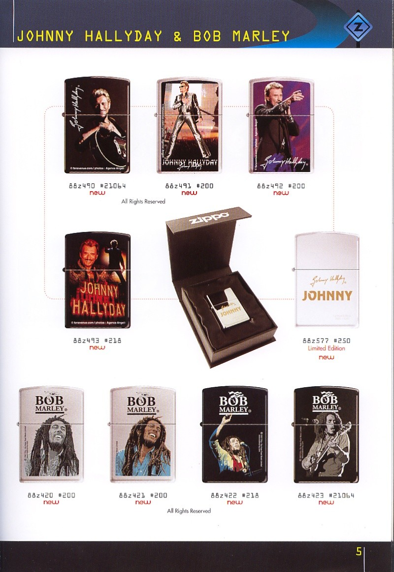 Catalogue ZIPPO collection 2008 - 2009 (France) Page_017