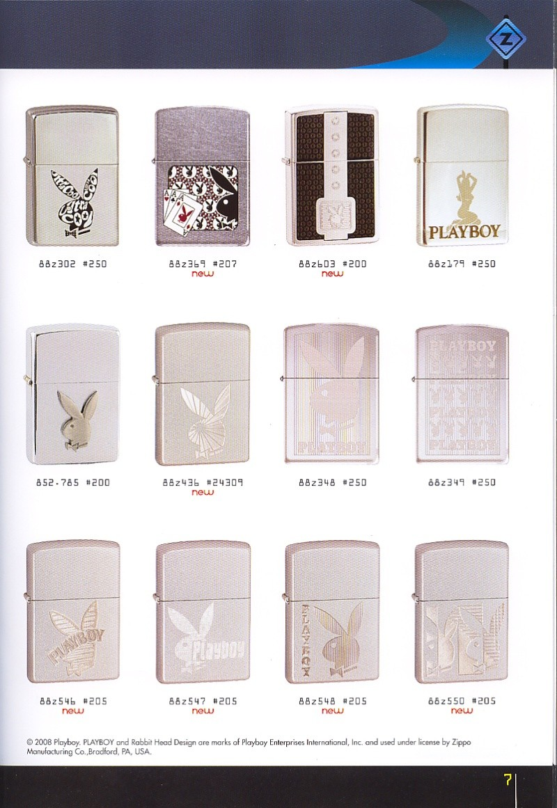 Catalogue ZIPPO collection 2008 - 2009 (France) Page_019