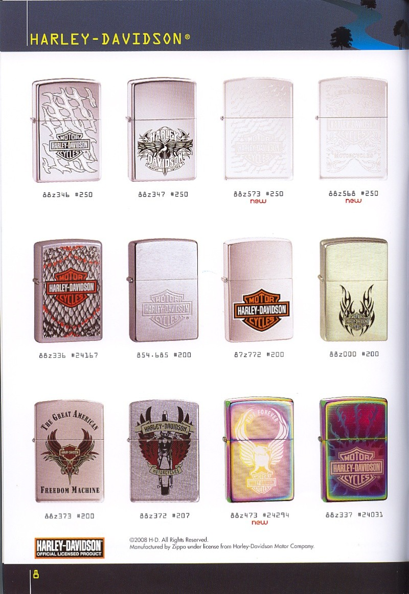 Catalogue ZIPPO collection 2008 - 2009 (France) Page_020