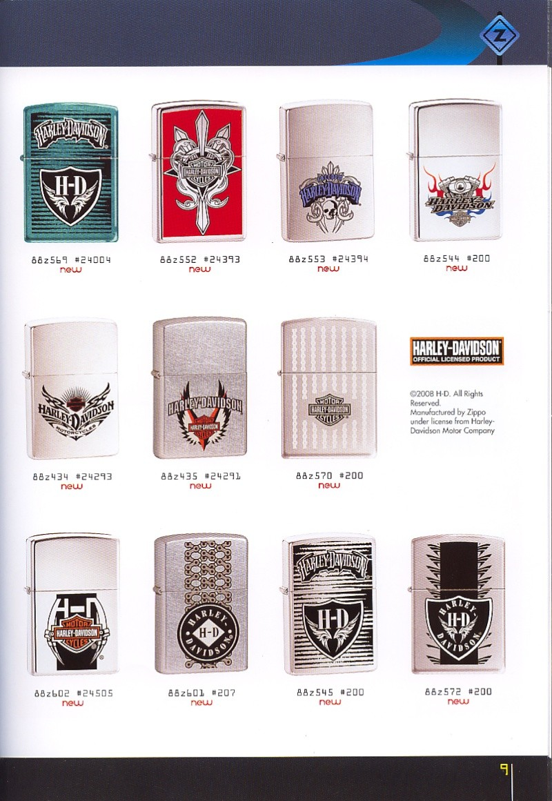 Catalogue ZIPPO collection 2008 - 2009 (France) Page_021