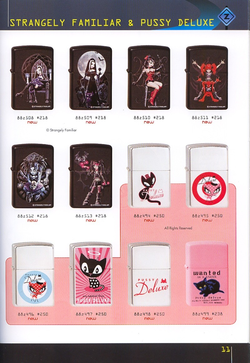 Catalogue ZIPPO collection 2008 - 2009 (France) Page_111