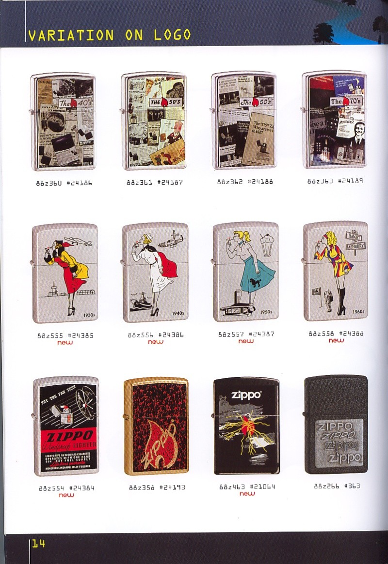 Catalogue ZIPPO collection 2008 - 2009 (France) Page_114