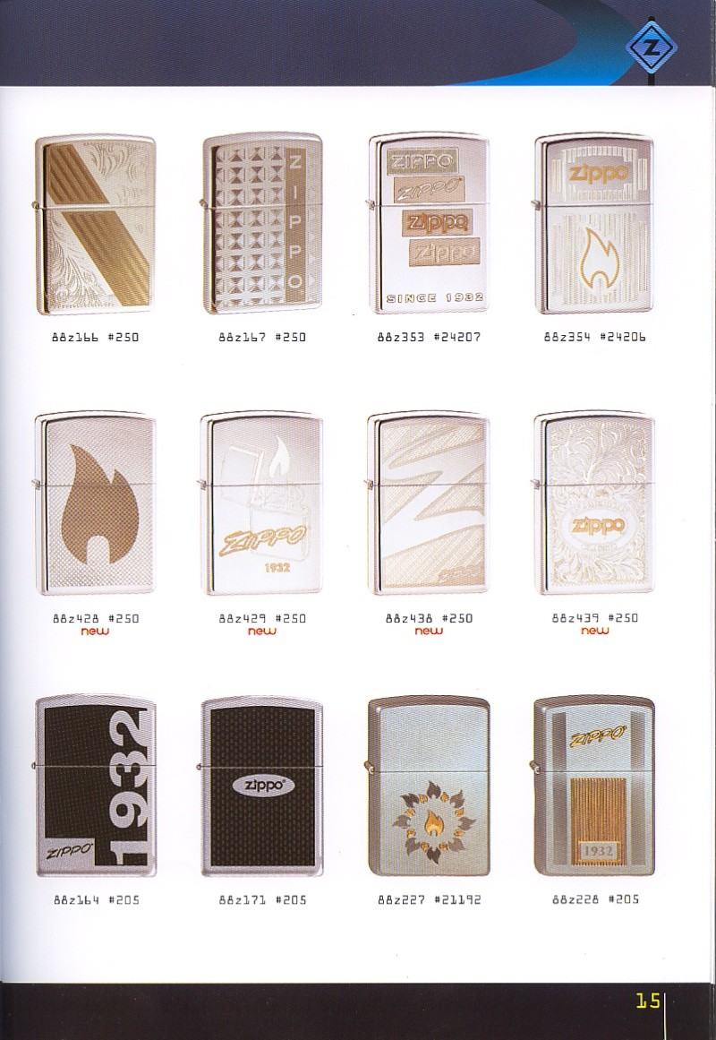 Catalogue ZIPPO collection 2008 - 2009 (France) Page_115