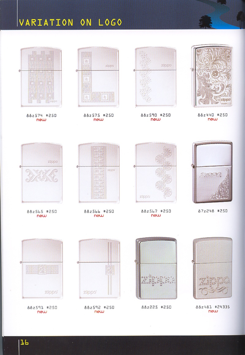 Catalogue ZIPPO collection 2008 - 2009 (France) Page_116