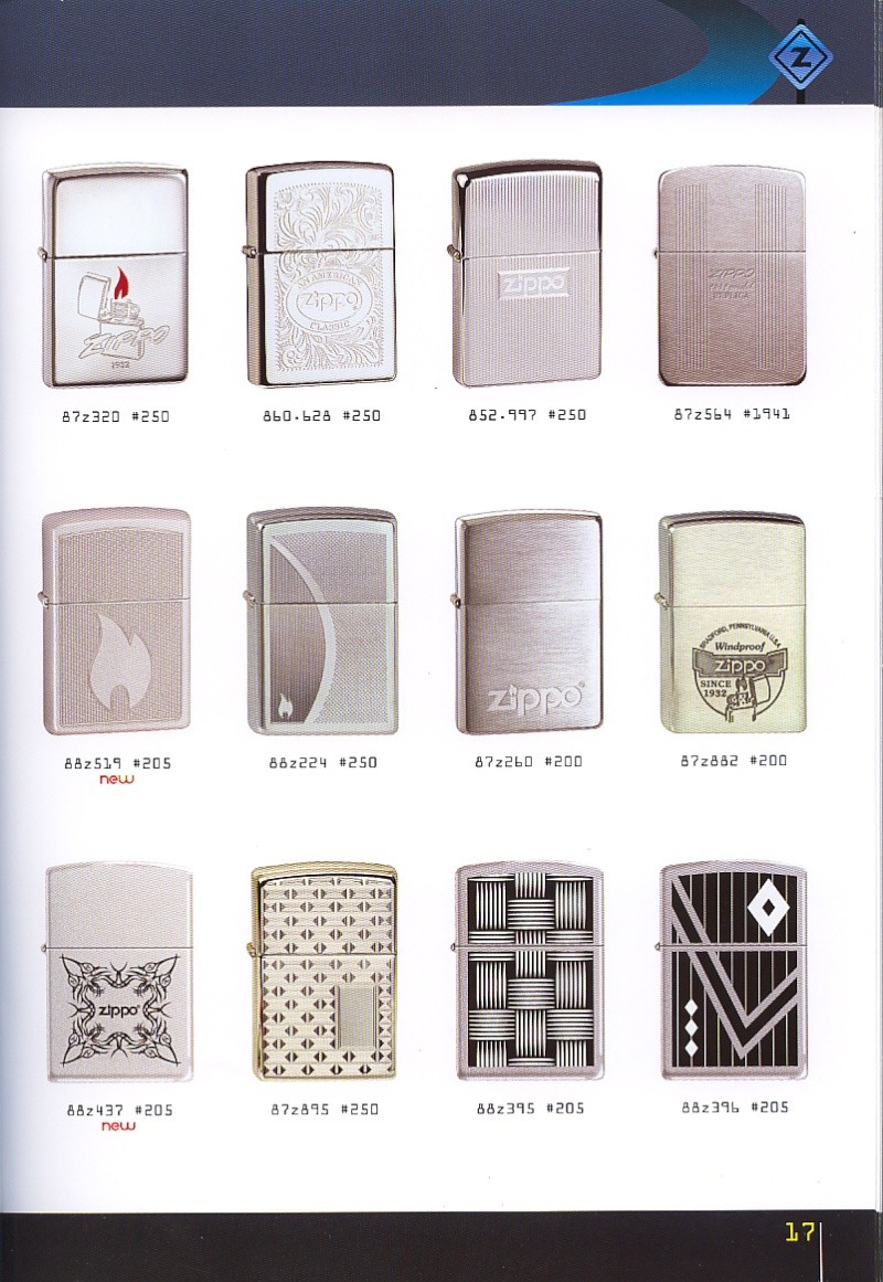 Catalogue ZIPPO collection 2008 - 2009 (France) Page_117