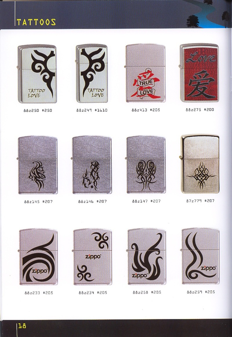 Catalogue ZIPPO collection 2008 - 2009 (France) Page_118