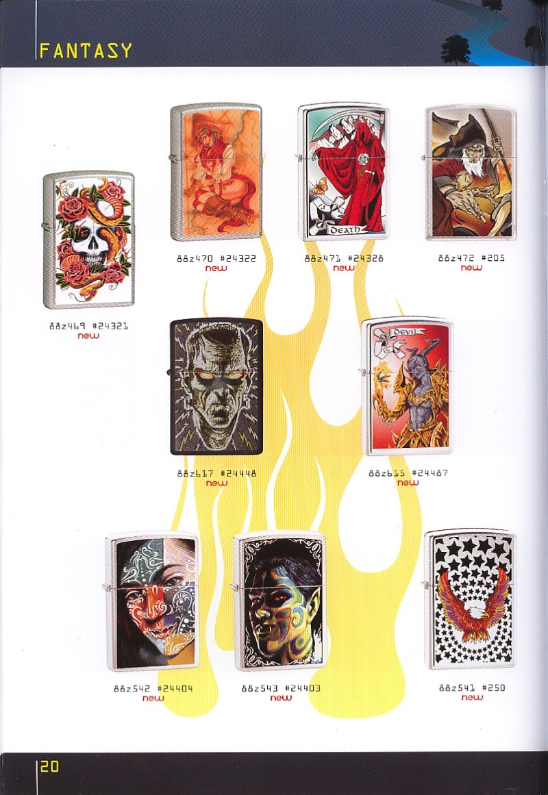 Catalogue ZIPPO collection 2008 - 2009 (France) Page_210