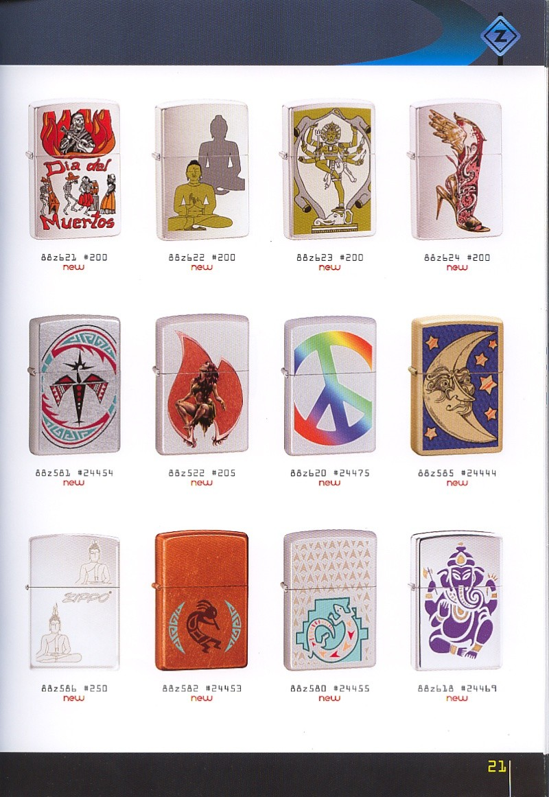 Catalogue ZIPPO collection 2008 - 2009 (France) Page_211