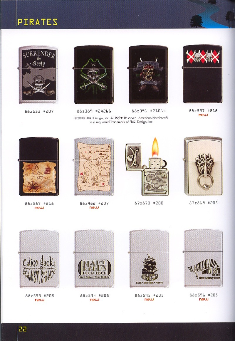 Catalogue ZIPPO collection 2008 - 2009 (France) Page_212