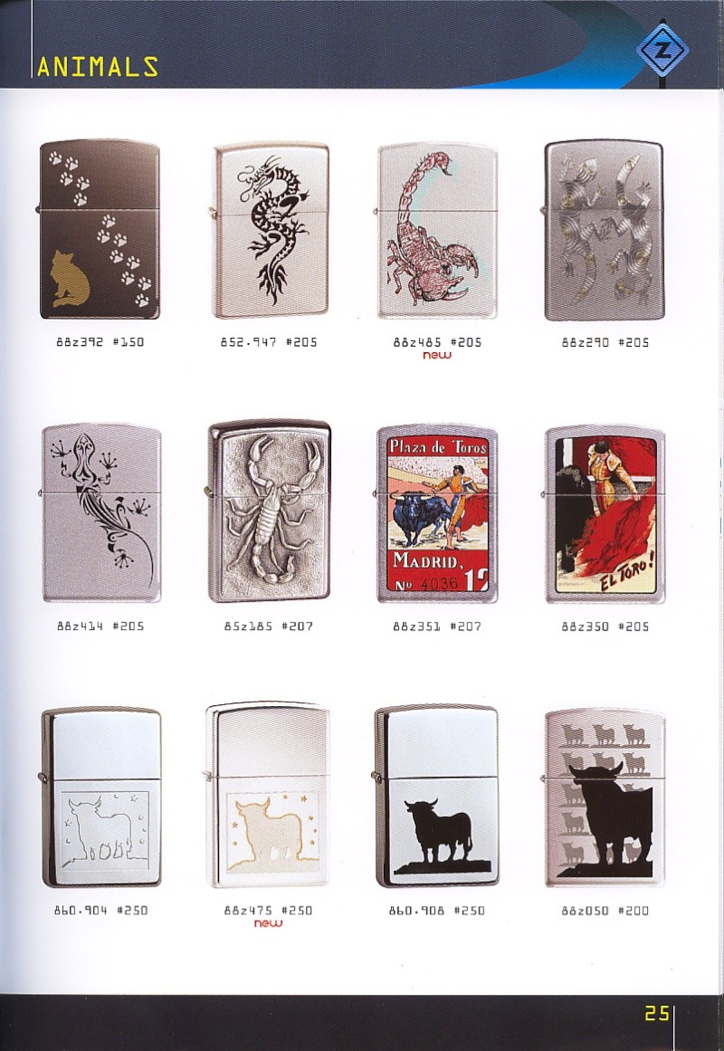 Catalogue ZIPPO collection 2008 - 2009 (France) Page_215