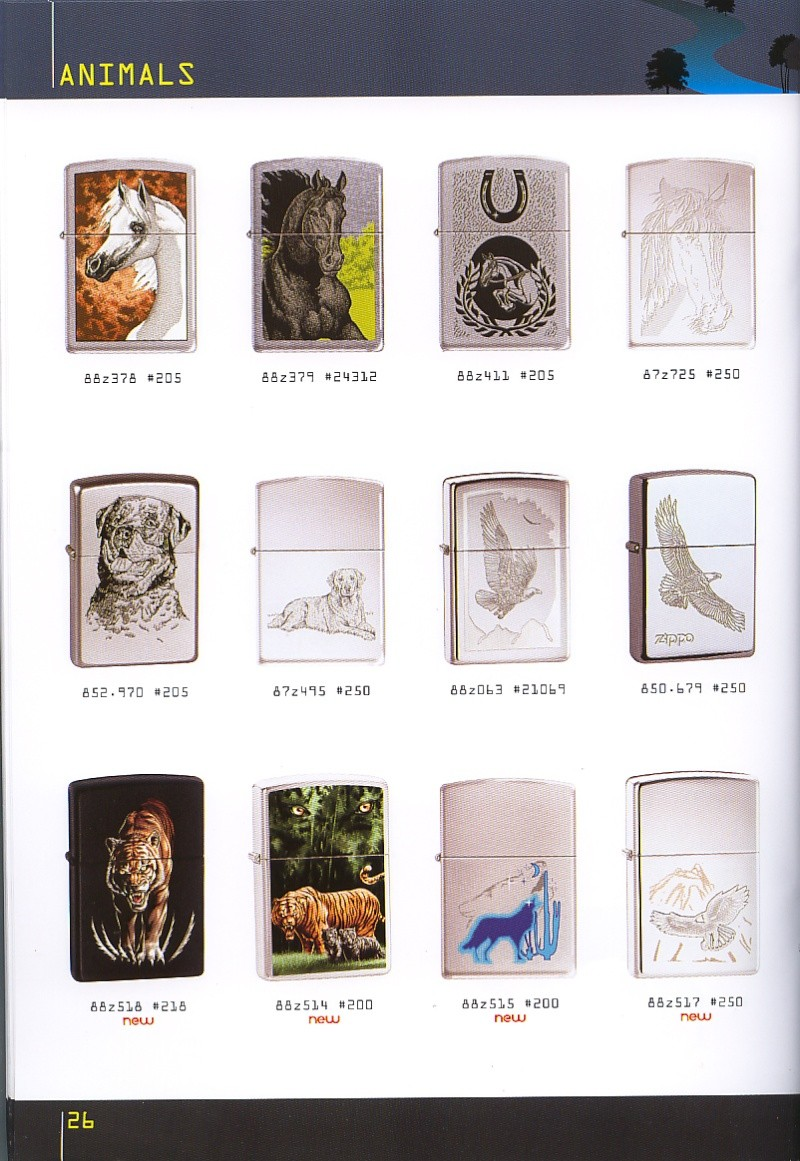 Catalogue ZIPPO collection 2008 - 2009 (France) Page_216