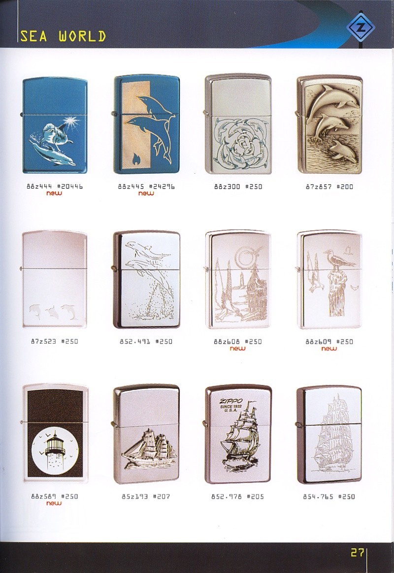 Catalogue ZIPPO collection 2008 - 2009 (France) Page_217
