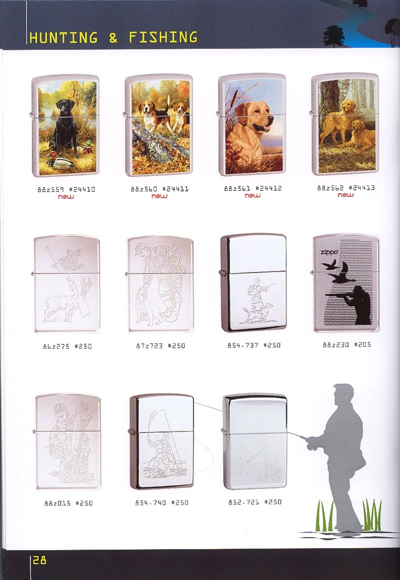 Catalogue ZIPPO collection 2008 - 2009 (France) Page_218