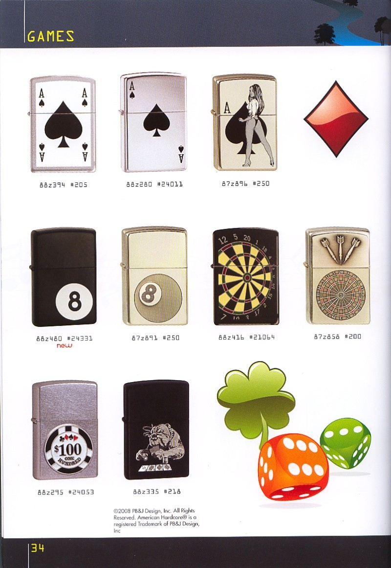 Catalogue ZIPPO collection 2008 - 2009 (France) Page_314