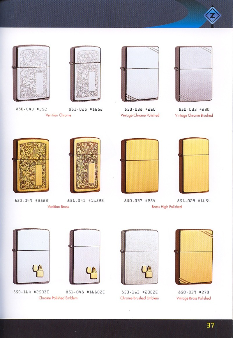 Catalogue ZIPPO collection 2008 - 2009 (France) Page_317