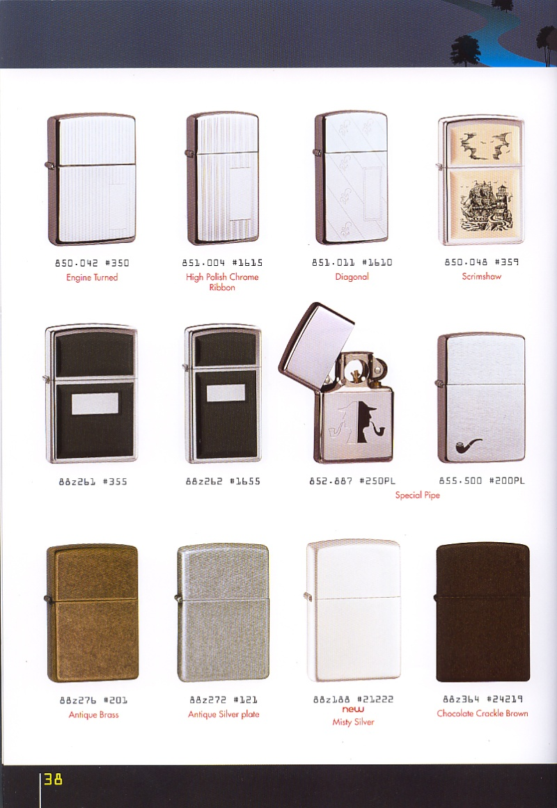 Catalogue ZIPPO collection 2008 - 2009 (France) Page_318