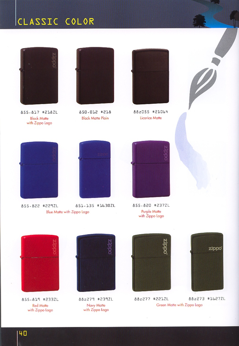 Catalogue ZIPPO collection 2008 - 2009 (France) Page_410