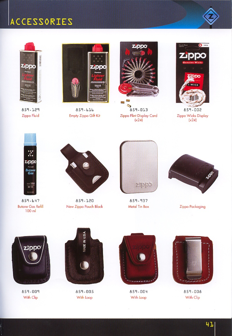 Catalogue ZIPPO collection 2008 - 2009 (France) Page_411