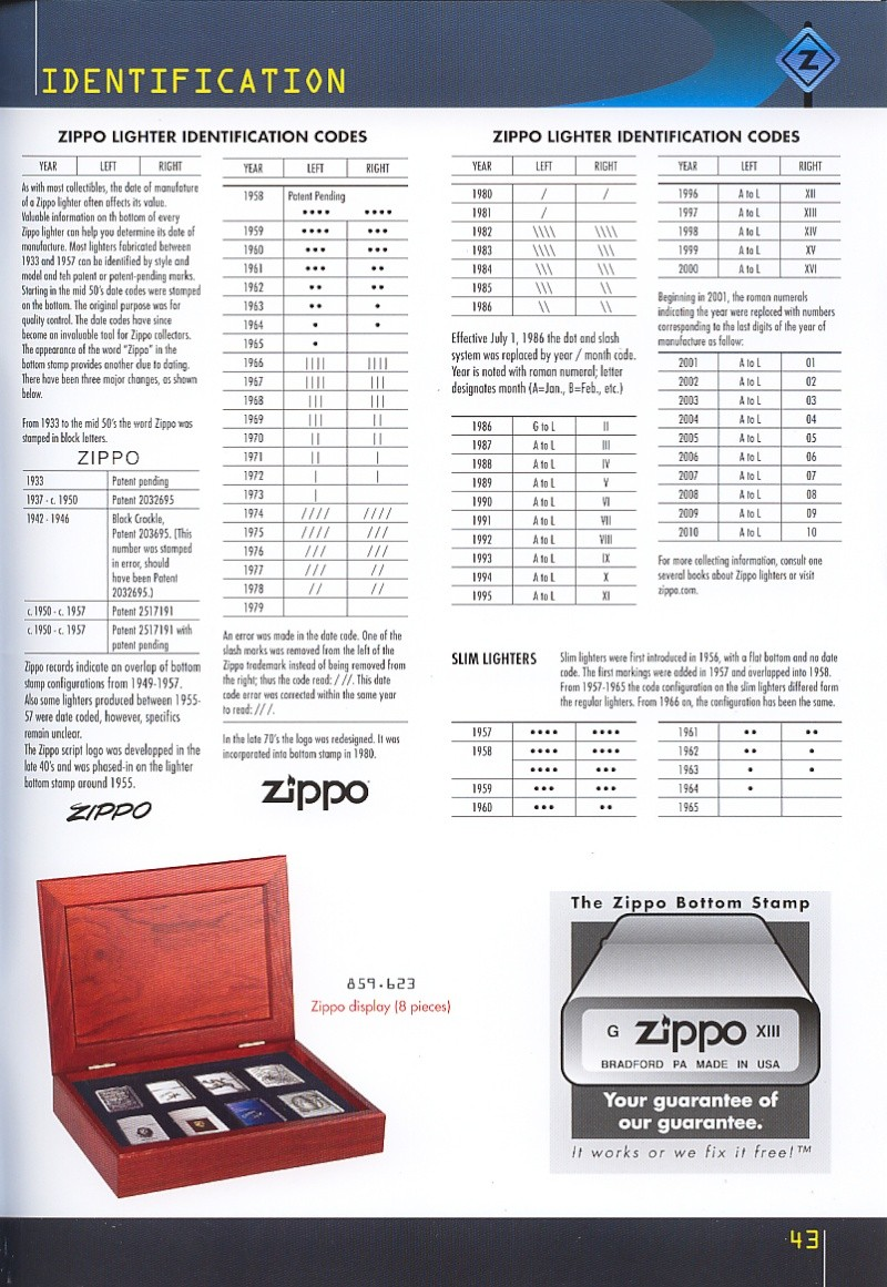 Catalogue ZIPPO collection 2008 - 2009 (France) Page_413