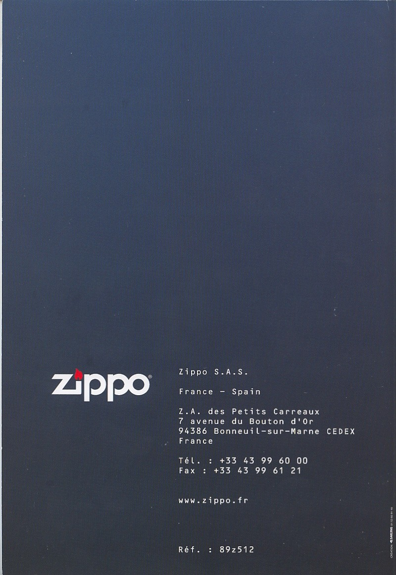 Catalogue ZIPPO collection 2008 - 2009 (France) Page_414
