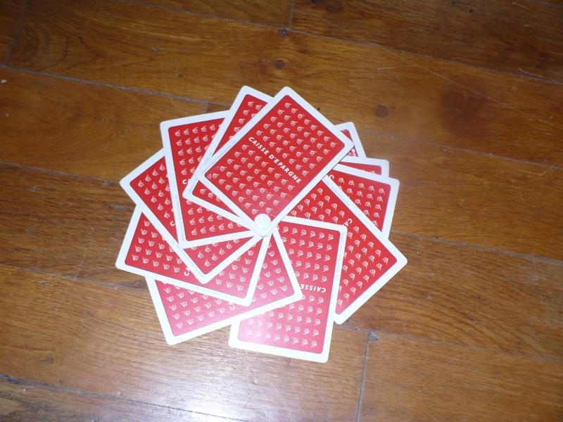 jeu de cartes perso bd la caisse d'épargne € 00615