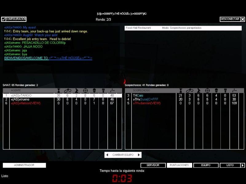 War «{AS}» vs TH 2 Th11