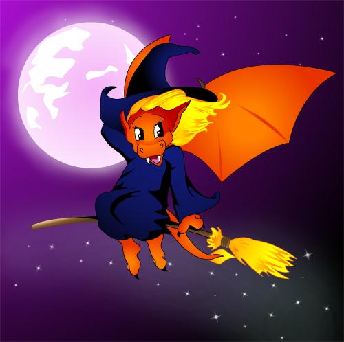 Halloween ! Dragon10