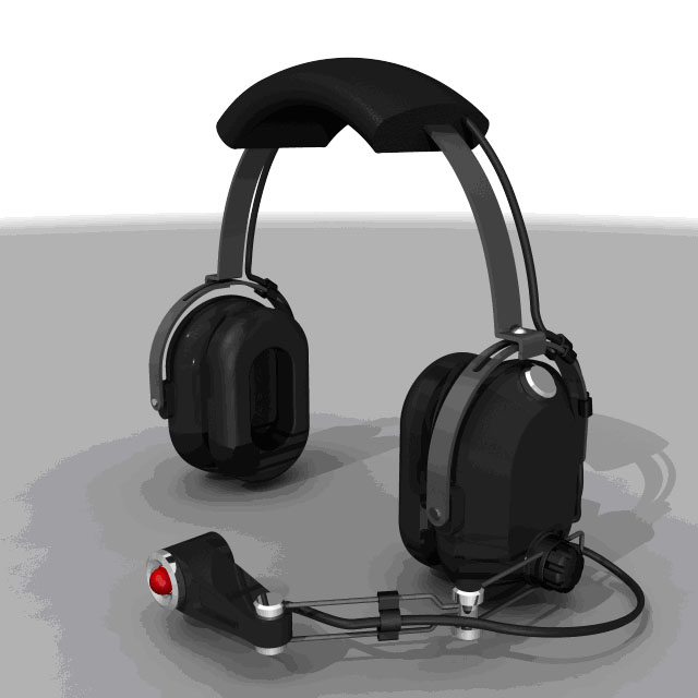 Saitek Pro Flight Aviation Audio Headset Stkpfa10