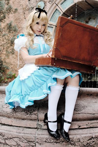 Alice au pays des merveilles iel Cos110