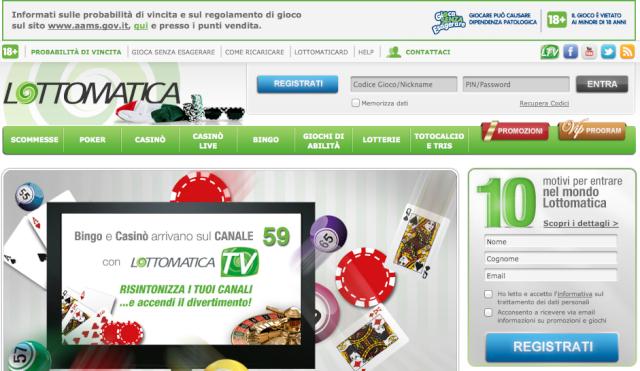 The show must go online: dal 18 aprile il Lotto sbarca su Internet. Scherm11
