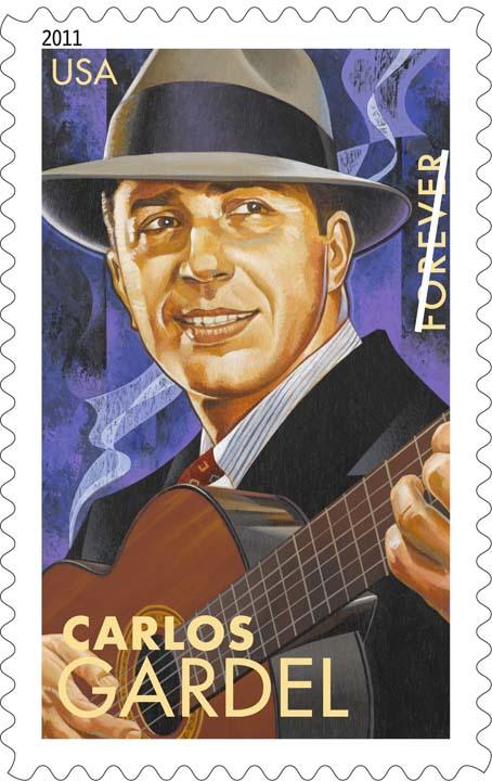 ESTAMPILLA DE CARLOS GARDEL EN ESTADOS UNIDOS Carlos14