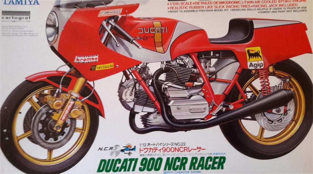 Ducati 900 NCR 1/12 tamiya 20200214