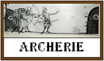 Archerie (arc, carquois, bracelet, palette et flèches)