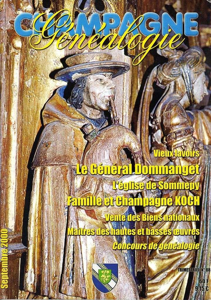 Bulletin de Liaison du Centre Généalogique de Champagne - Champagne Généalogie Champa12