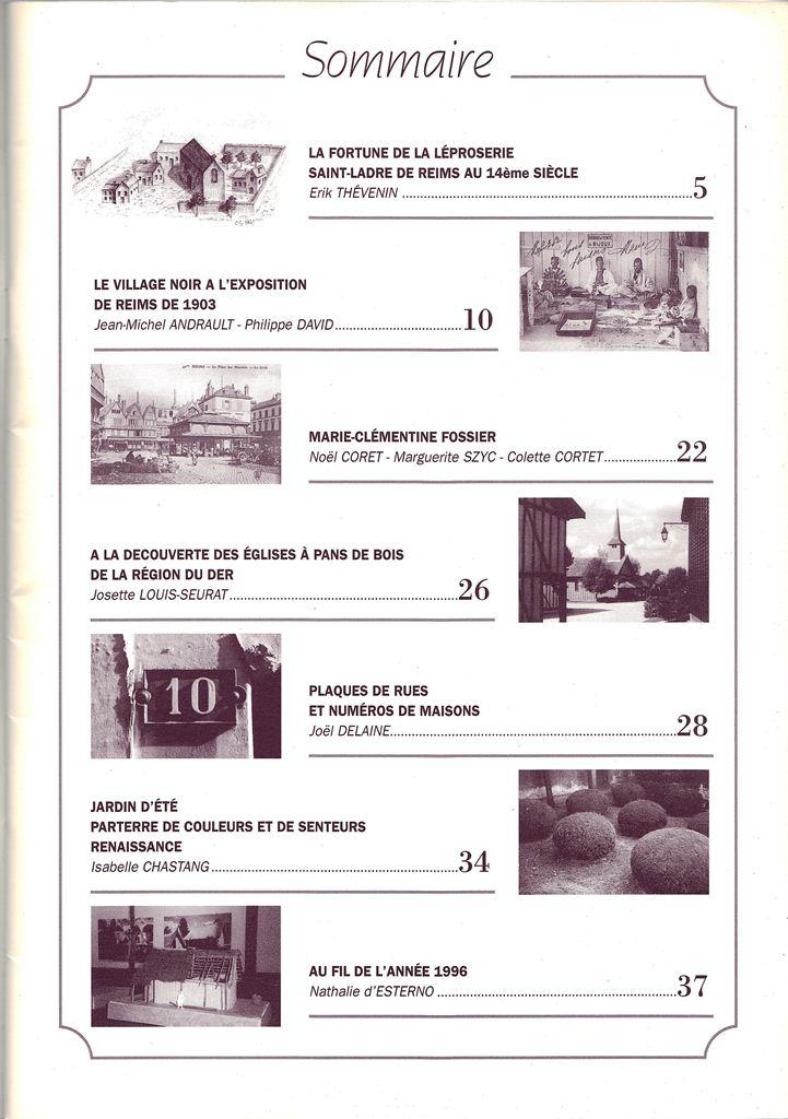 Regards sur notre Patrimoine - Bulletin de la Société des Amis du Vieux Reims Scan0011