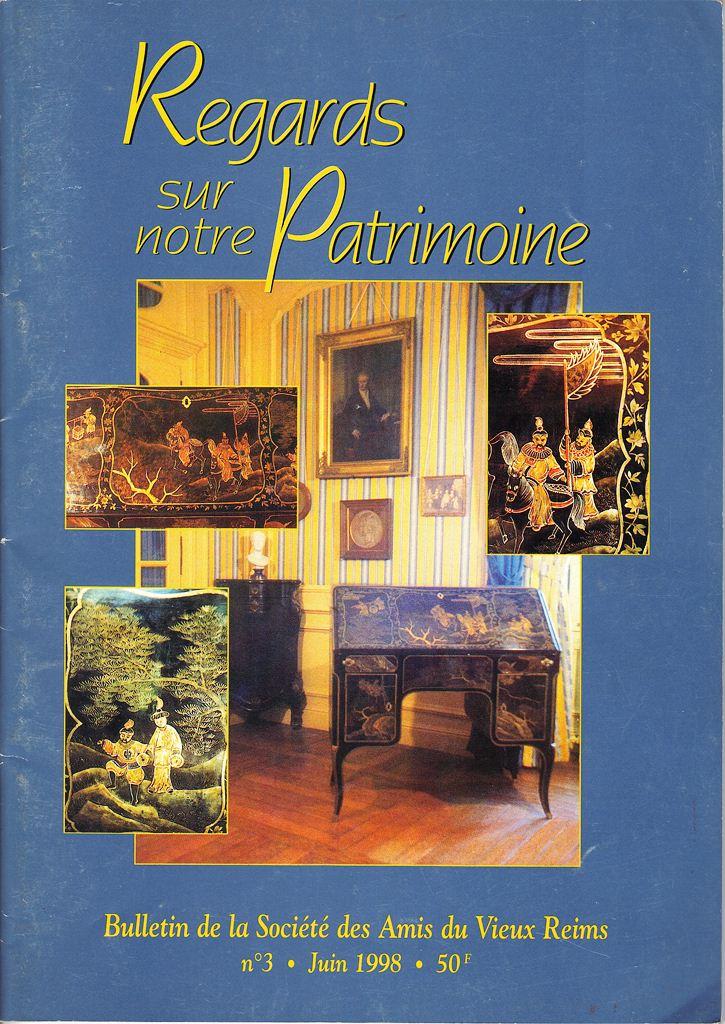 Regards sur notre Patrimoine - Bulletin de la Société des Amis du Vieux Reims Scan0012